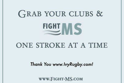 IvyRugby.com Supports Inaugural Fight MS Golf Outing