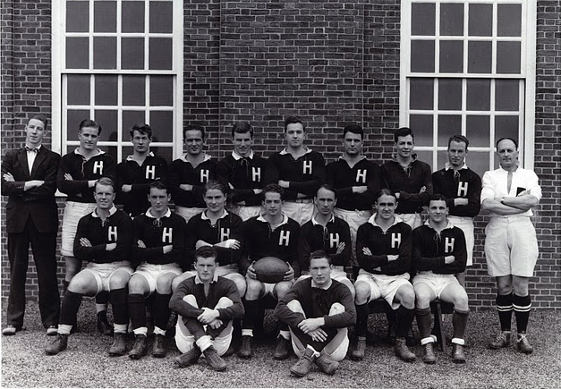 Harvard Men's Rugby team in 1942