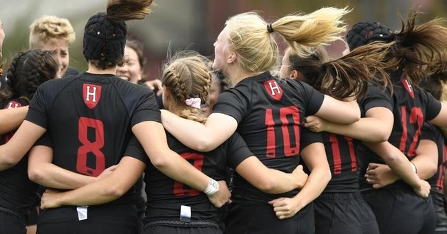2018 Harvard Women's Rugby wins at AIC