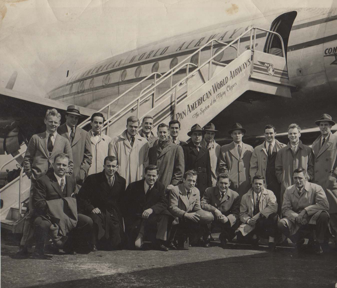 1947 Yale Rugby Team Travels to Bermuda