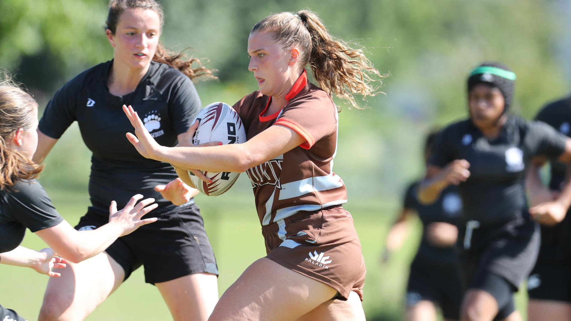 Brown women's rugby team opened the 2018 15s season with a 26-19 victory over Sacred Heart