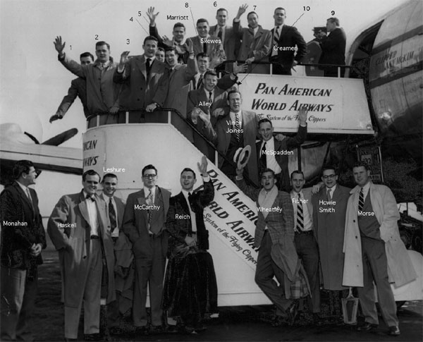 1951 Dartmouth Men's Rugby to Bermuda