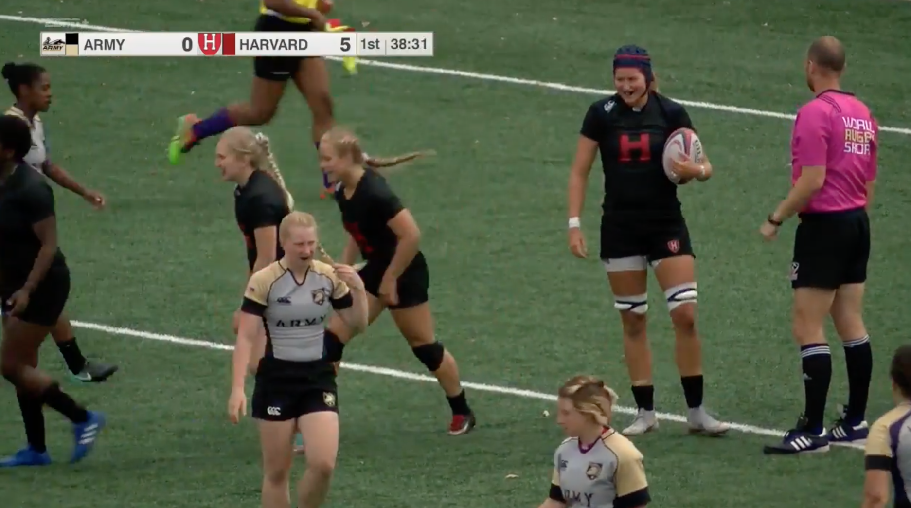 Harvard women's rugby team (2-0) captured its second win of the season by defeating Army West Point (0-1), 28-17