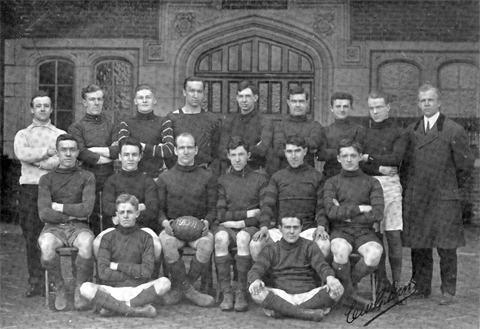 1910 Penn Men's Rugby team