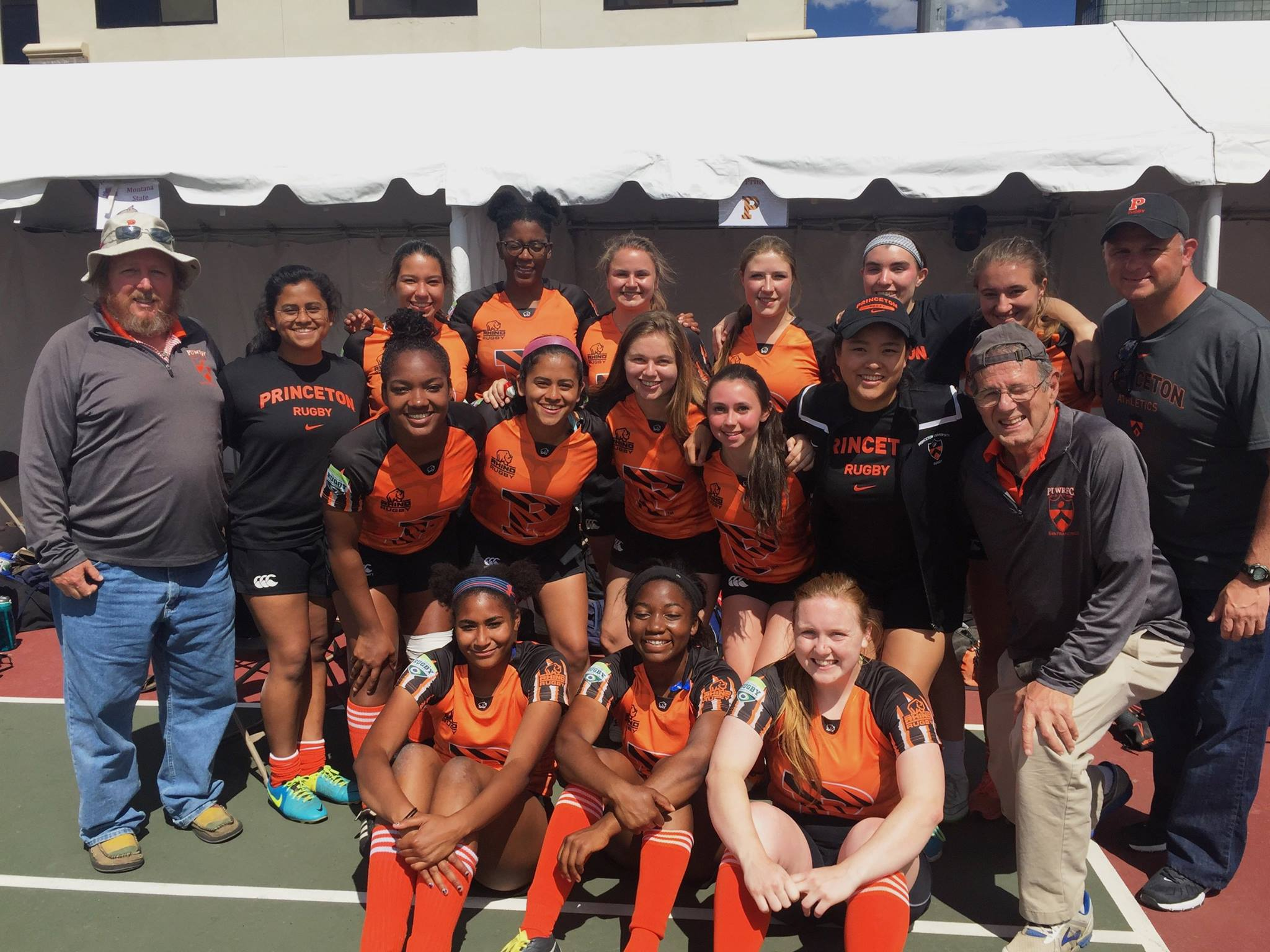 Princeton Women's Rugby at Nationals 2017