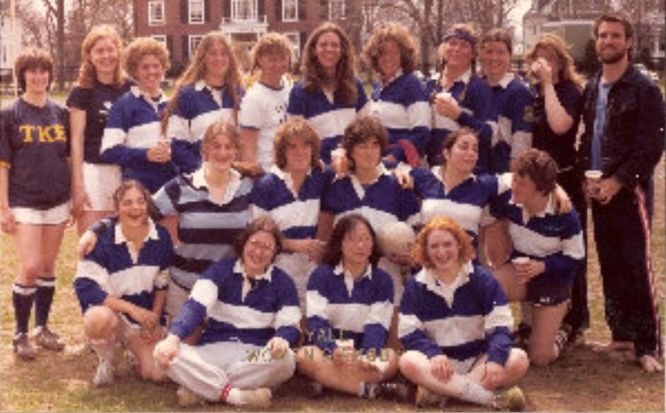 Yale Women's team in 1980