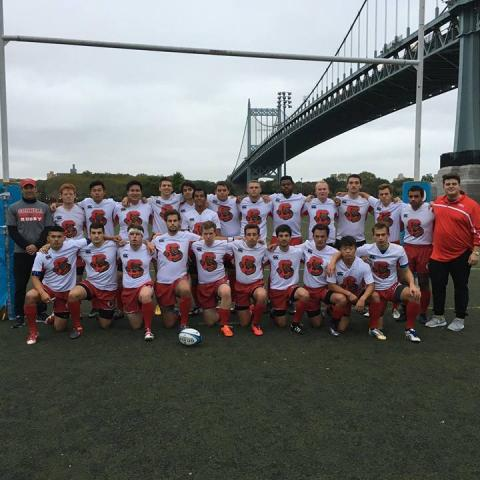 Cornell Men squeaked a win at NYCs Randall's Island