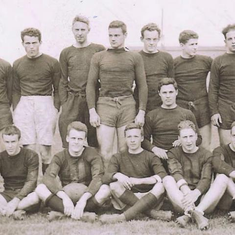 Harvard Men's Rugby 1934 team