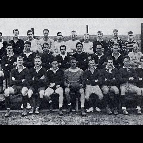 1936 Harvard Rugby Team