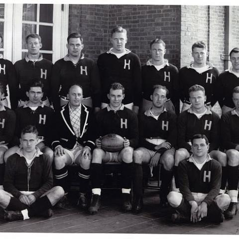 Harvard Men's Rugby team 1941
