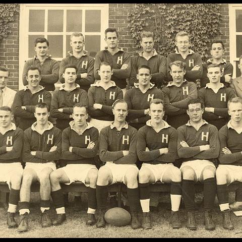 Harvard Rugby 1950