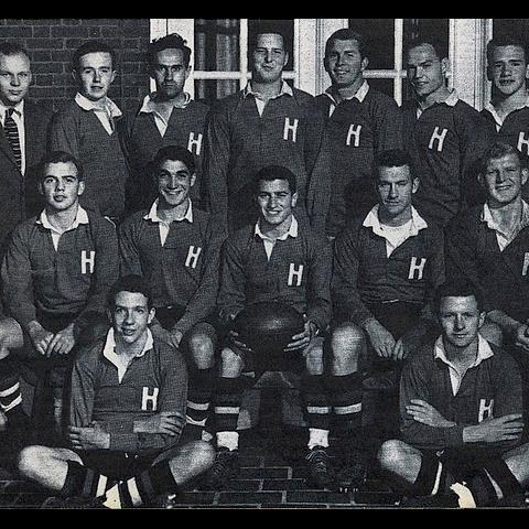 1955 Harvard Men Rugby Football