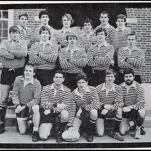 1986 Harvard Rugby Tour of France