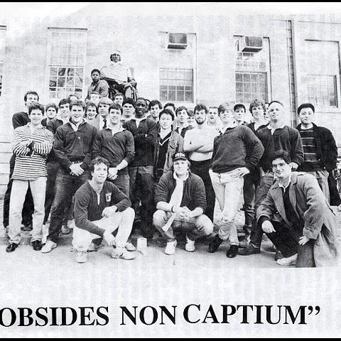 Harvard Rugby 1987 Touring side