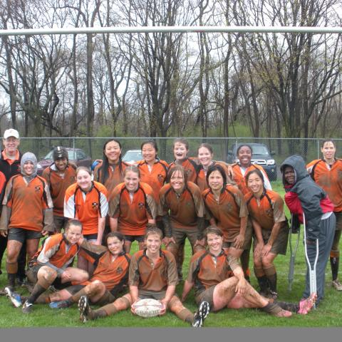Princeton Women's Rugby Spring 2009