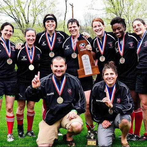 2011 Harvard Women Seniors and Coaches
