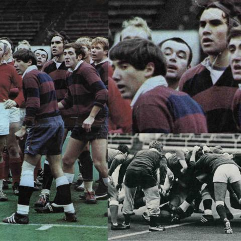 1970 Penn Men's rugby team