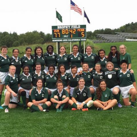 Dartmouth Women first varsity match