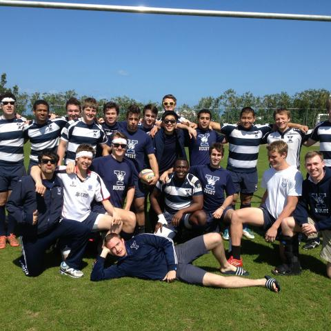 Yale Men Bermuda Tour 2013