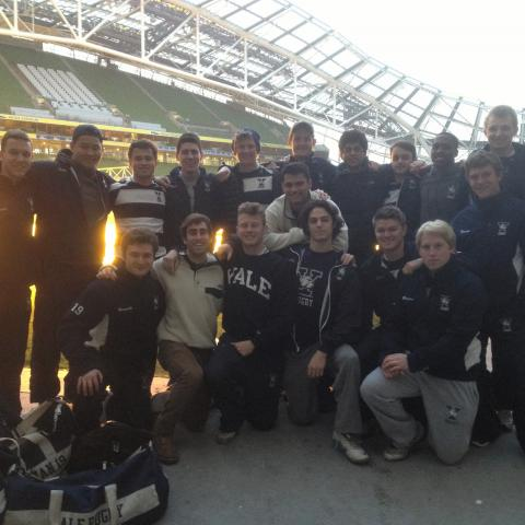Spring 2014 Rugby Yale Men