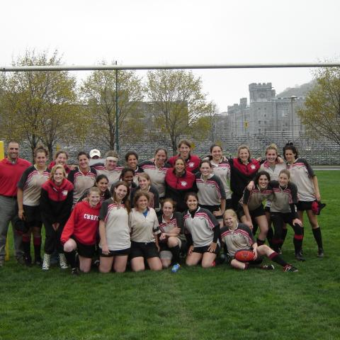 Cornell Women's Rugby April 2005