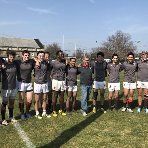 Brown Men 2018 Ivy Sevens Champions