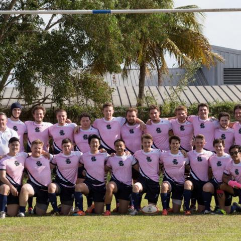 Brown University Men in Trinadad April 2016