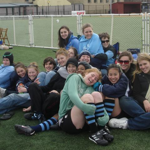 2007 Columbia Women's Rugby