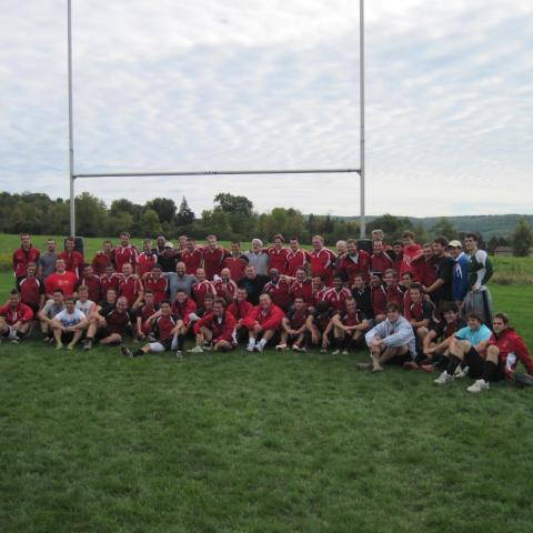 Cornell Men and Faded Red Fall 2011