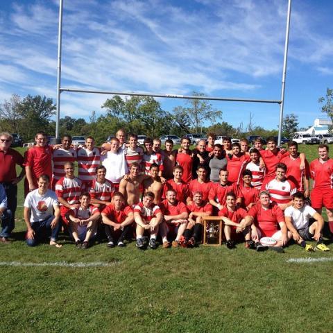 Cornell Men Team Photo, Fall 2013