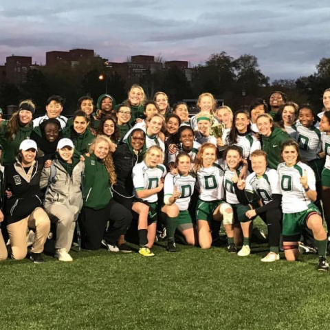 Rugby: Dartmouth Women Fall 2016