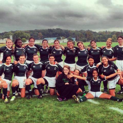 Fall 2013 Dartmouth Women's Rugby