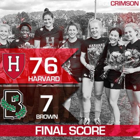 Harvard won handily