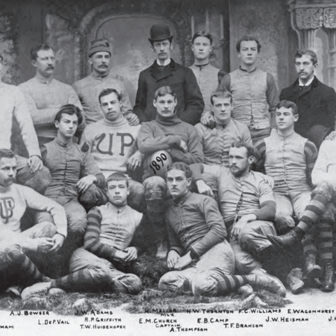 Heisman transferred to Penn to study law in 1890