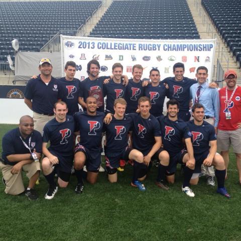 Penn Men's Rugby Team Photo