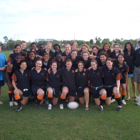 Princeton Women's Rugby 2007