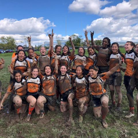 Princeton Women's Rugby defeats Cornell