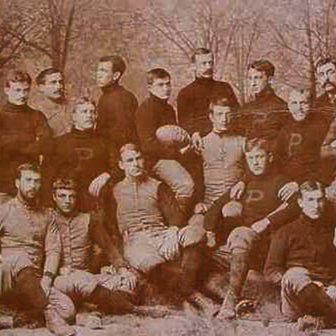 Princeton Rugby 1889