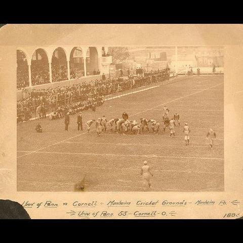 Penn vs Cornell 1893