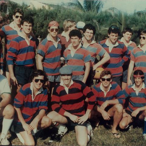 University of Pennsylvania Men Spring 1983 tour to the Grand Cayman
