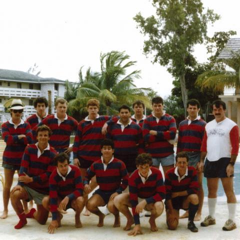 University of Pennsylvania Men's Rugby Freeport, Bahamas