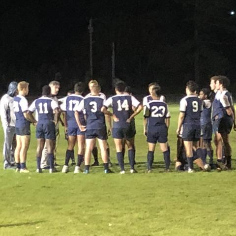 Cornell Rugby wins scrum v Princeton