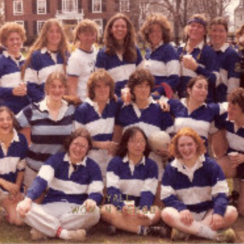 Yale Women's team in 1980