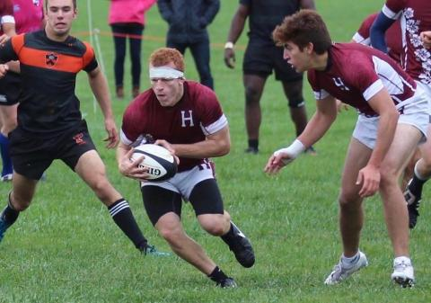 Matt Sciamanna, Harvard Men's Rugby