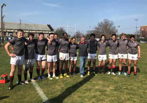 Brown Men Win Ivy Rugby Conference 7s Championship