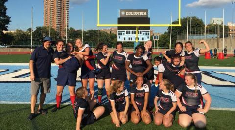 Penn Women defeat Columbia on the road 56-32