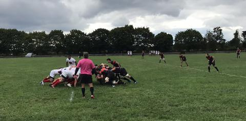 Cornell Rugby at Princeton