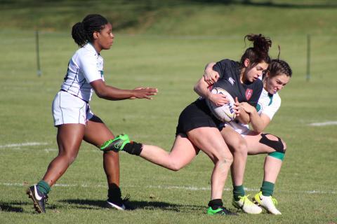 Dartmouth Women's Rugby defeats Harvard