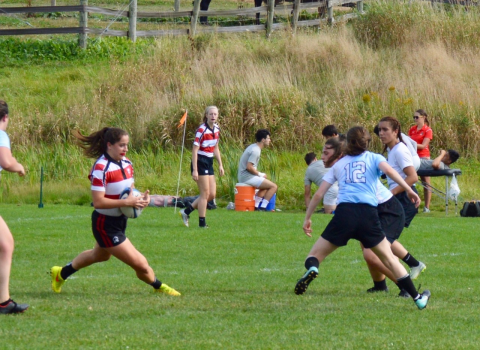 Cornell Women's Rugby win at home over Columbia 49-29