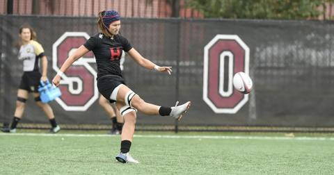 Harvard women's rugby (2-1) suffered its first loss of the season against undefeated Dartmouth
